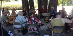 Spencer Creek Market Acoustic Jam Circle