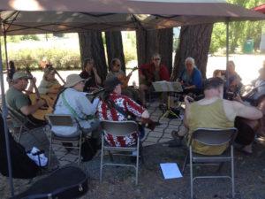 Spencer Creek Market Acoustic Jam Circle