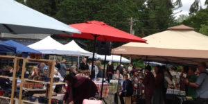 Opening Day 2018 at the Spencer Creek Growers Market in Eugene